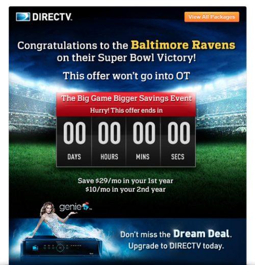 Superbowl email 4